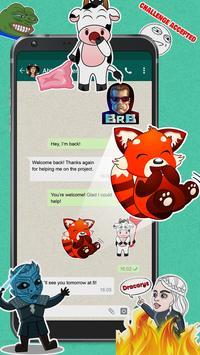 Meme Stickers for WhatsApp screenshot 2