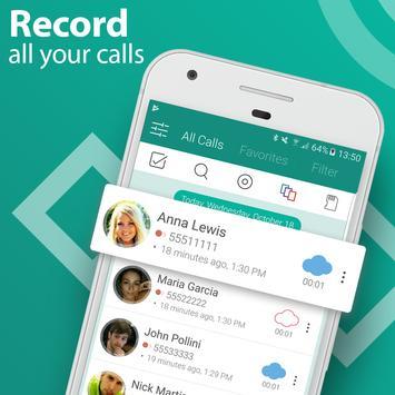 Call Recorder - Automatic Call Recorder Pro постер