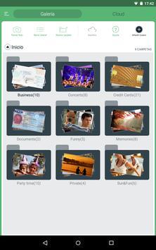 Ocultar las fotos y vídeos captura de pantalla 6