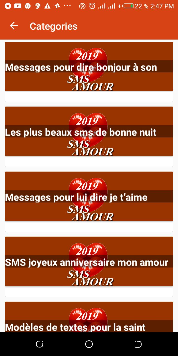 9999 Sms Amour 2019 For Android Apk Download