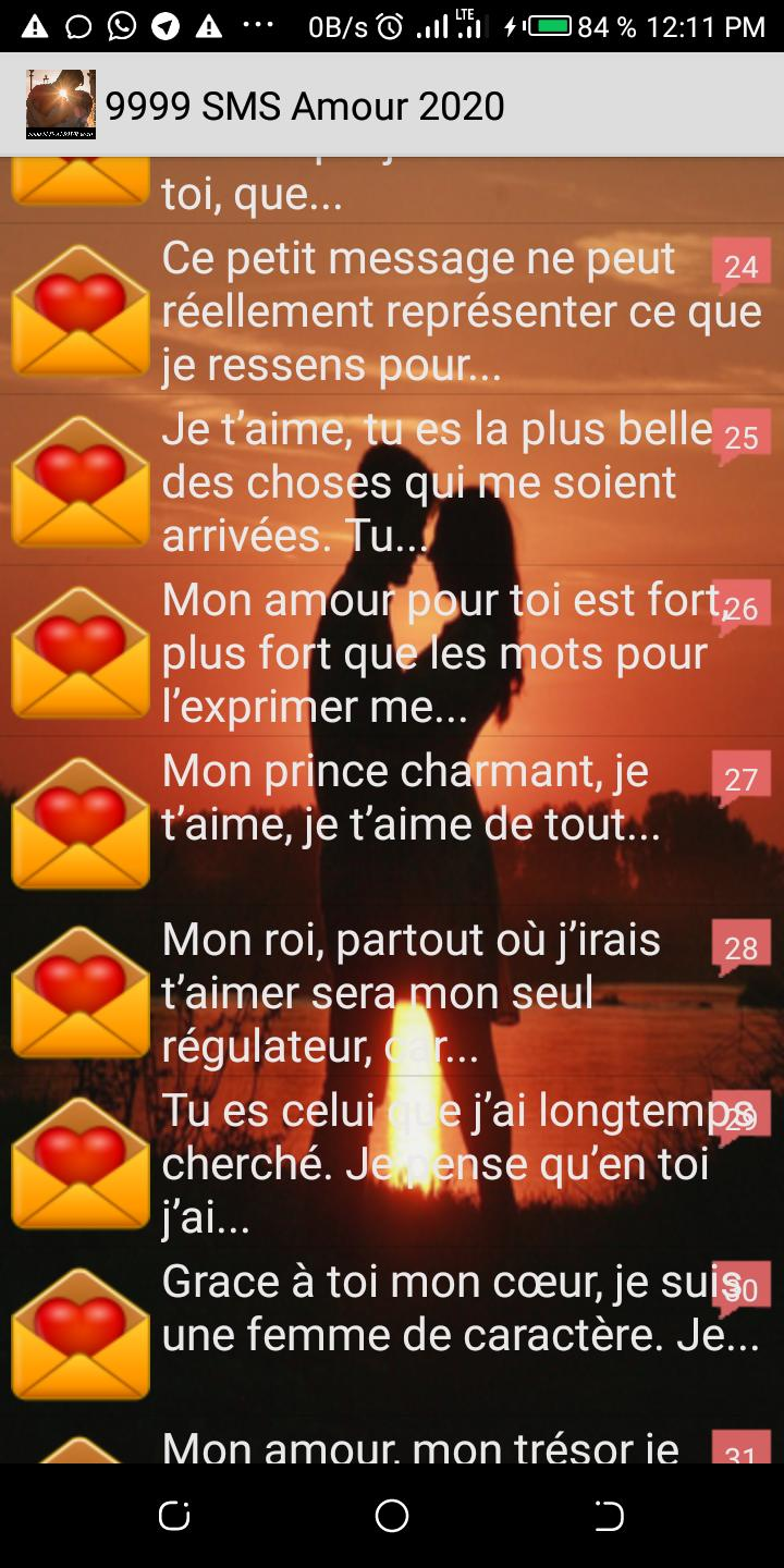 Pour L Amour Des Belles Choses 9999 sms amour 2020 for android - apk download