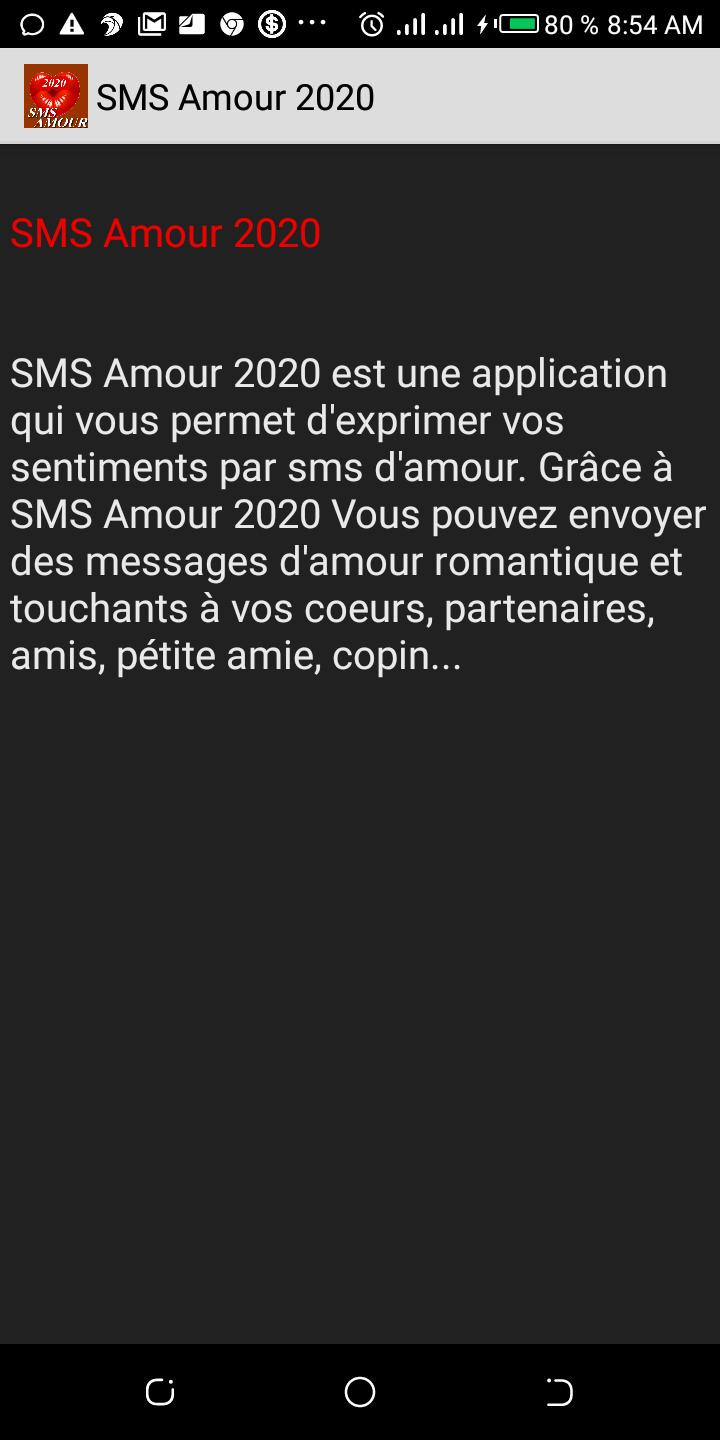 Sms Amour 2020 For Android Apk Download