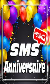 SMS Anniversaire 2019 poster