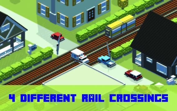 Railroad crossing - Train crash mania screenshot 3
