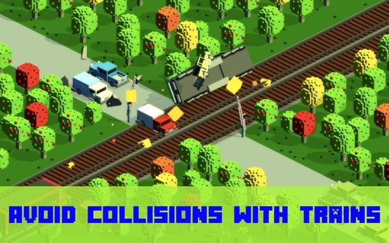 Railroad crossing - Train crash mania screenshot 6