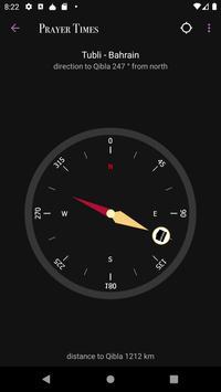 Prayer Times captura de pantalla 1