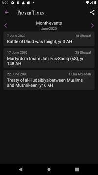 Prayer Times captura de pantalla 2
