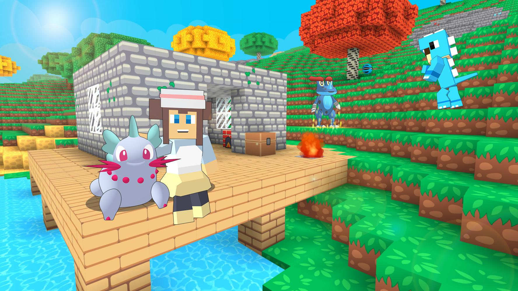Pixelmon Trainer Craft: Catch & Battle for Android - APK