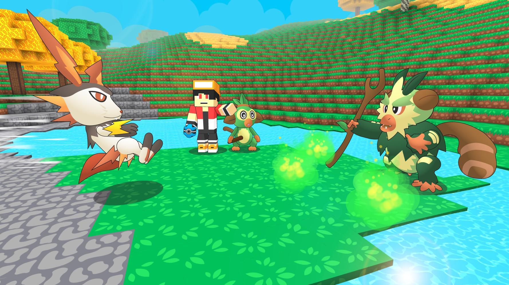 Pixelmon Trainer Craft: Catch & Battle for Android - APK Download