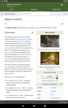 Bird Guide Europe screenshot 11