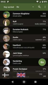 Bird Guide Europe screenshot 4