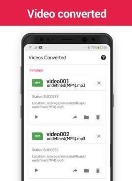 MP3 Video Converter screenshot 1
