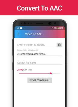MP3 Video Converter screenshot 5