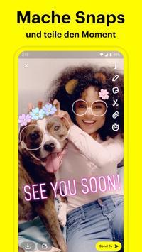 Snapchat Plakat