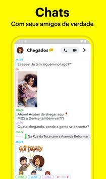 Snapchat imagem de tela 1