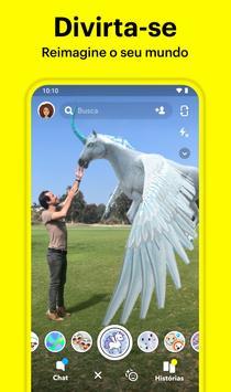 Snapchat imagem de tela 2