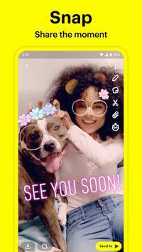 Snapchat poster