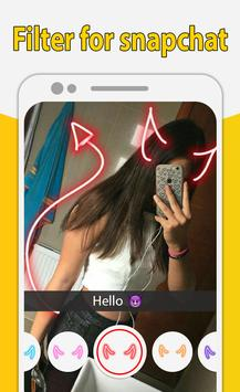 Filter for snapchat - Amazing Camera Filters screenshot 3