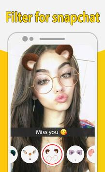 Filter for snapchat - Amazing Camera Filters screenshot 11