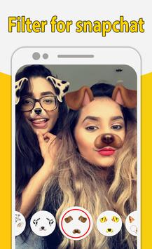 Filter for snapchat - Amazing Camera Filters screenshot 1