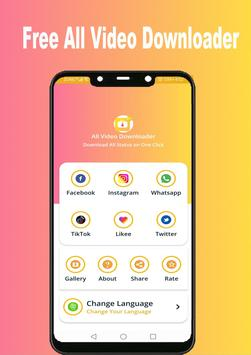 Snap Video Downloader - Free All Video Download poster
