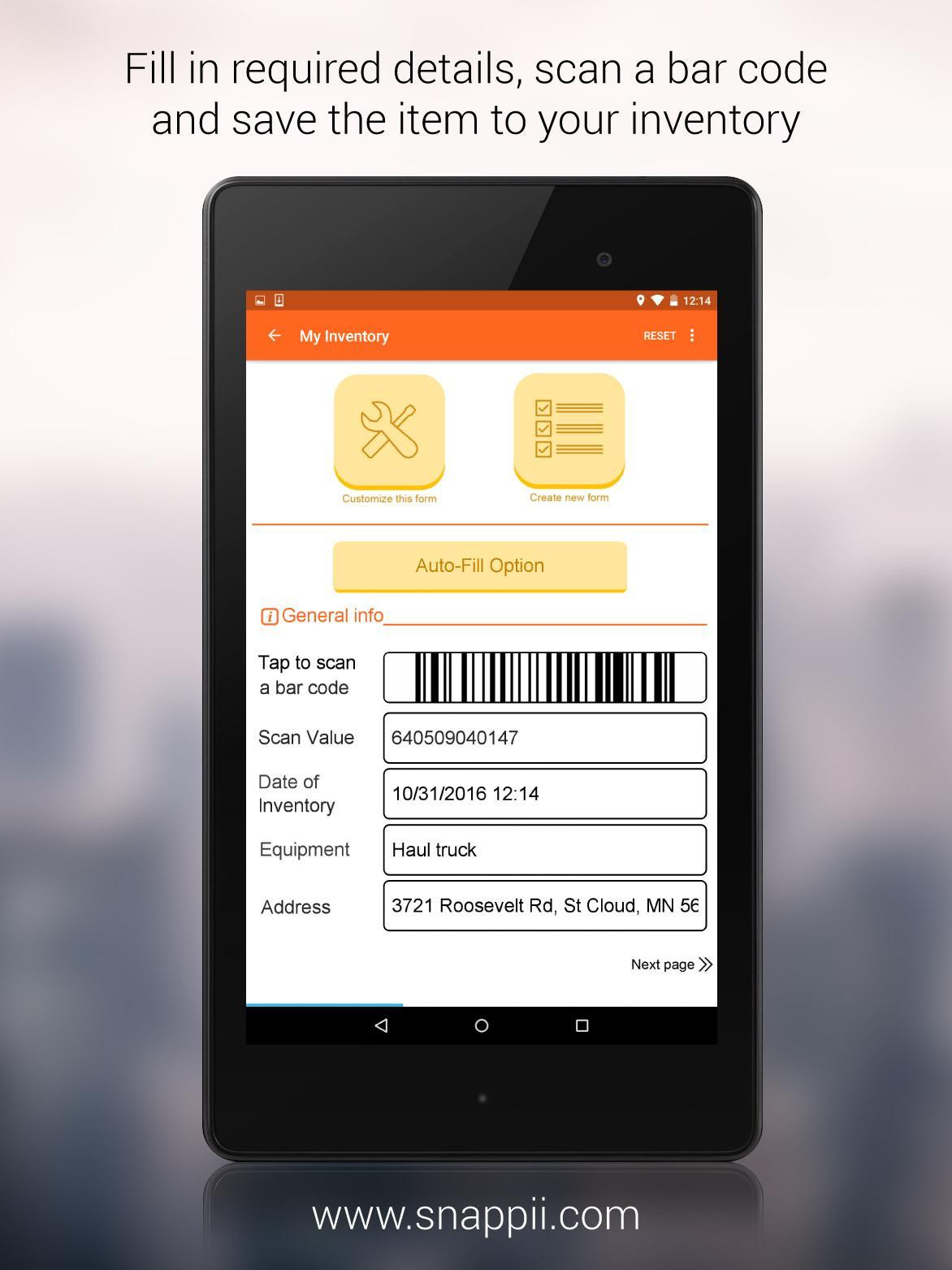 Equipment Inventory App for Android - APK Download