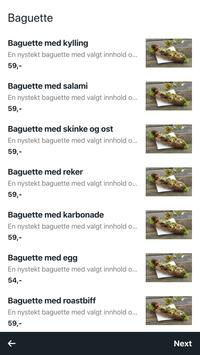 BaguetteXpressen screenshot 1