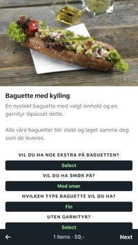 BaguetteXpressen screenshot 2