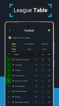 Ads free Live Scores for Football - SnapScore स्क्रीनशॉट 3