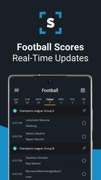 Ads free Live Scores for Football - SnapScore पोस्टर