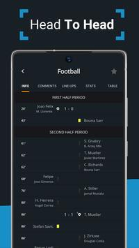 Ads free Live Scores for Football - SnapScore स्क्रीनशॉट 4