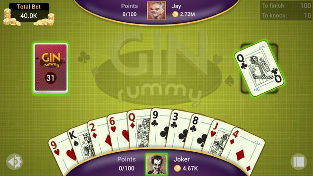 Gin Rummy captura de pantalla 6