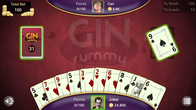 Gin Rummy captura de pantalla 7