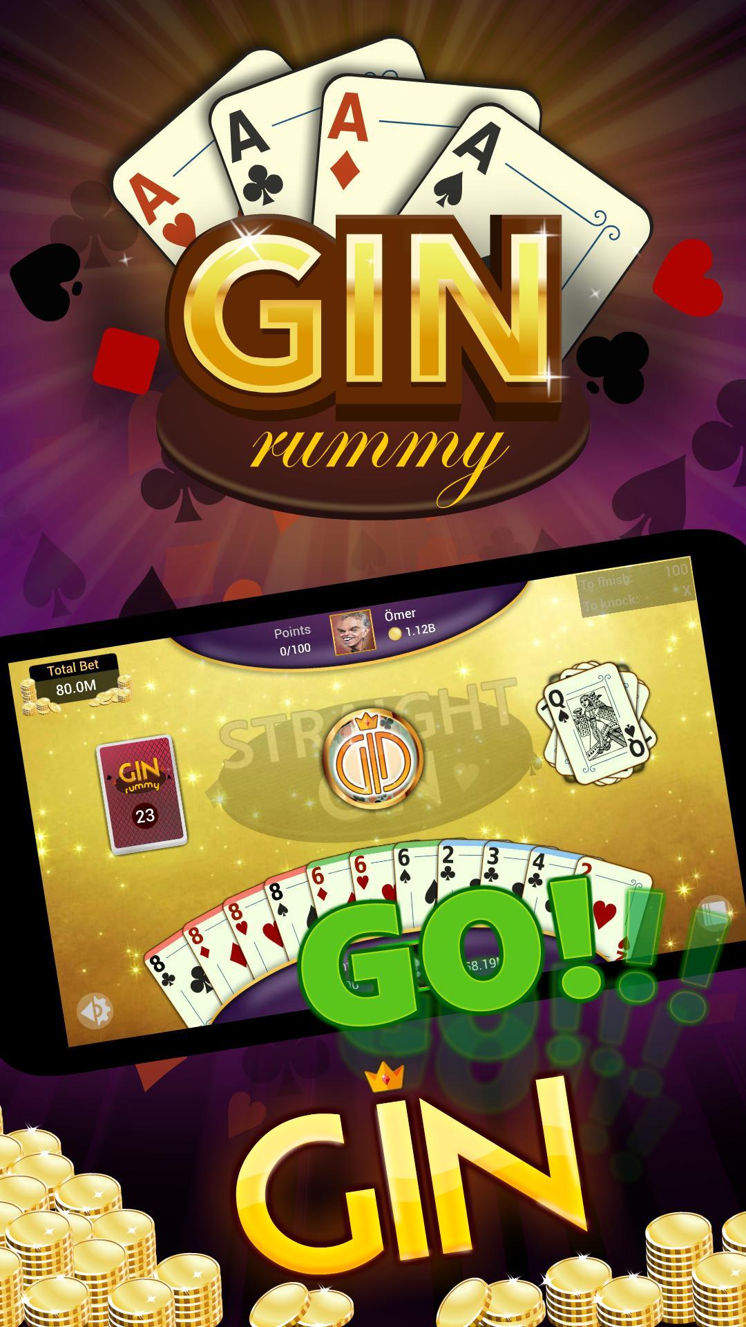 Gin Rummy Online Free