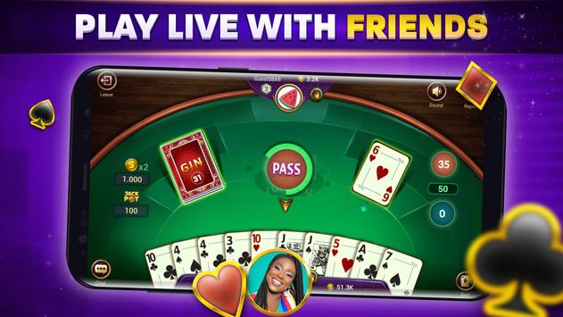 Gin Rummy - Game Kartu Remi Online screenshot 6