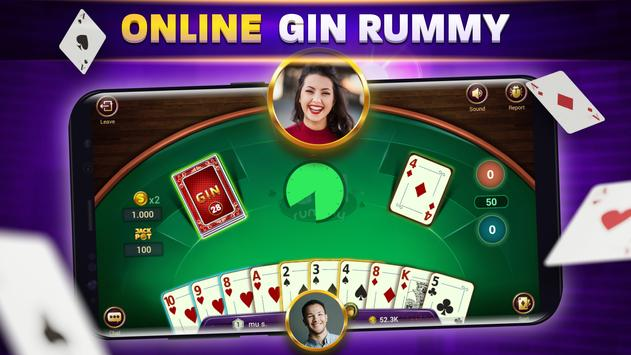 Gin Rummy - Game Kartu Remi Online screenshot 10