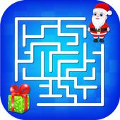 Kids Maze : Educational Puzzle Christmas icon