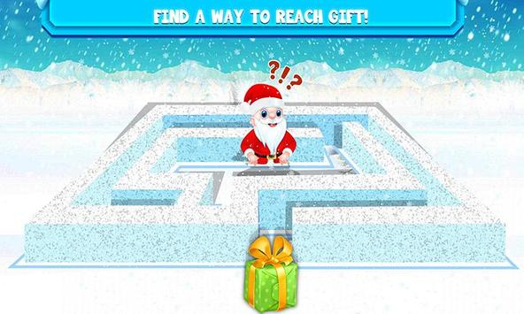 Kids Maze : Educational Puzzle Christmas screenshot 10