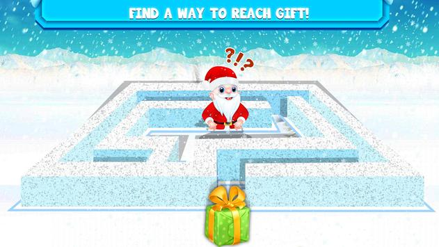 Kids Maze : Educational Puzzle Christmas screenshot 1