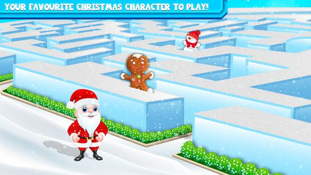 Kids Maze : Educational Puzzle Christmas screenshot 2