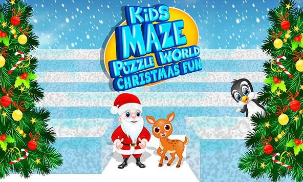 Kids Maze : Educational Puzzle Christmas screenshot 9