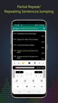 Dr.Lang - Audio Player for Learning Language screenshot 1