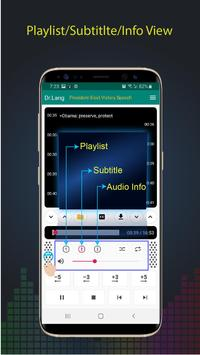 Dr.Lang - Audio Player for Learning Language screenshot 2