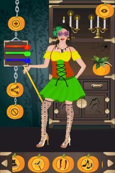 Halloween Girl Dress Up screenshot 1