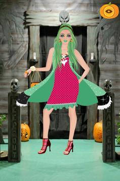 Halloween Girl Dress Up screenshot 2