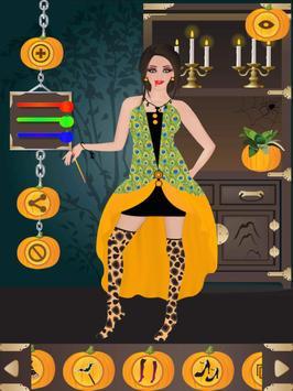 Halloween Girl Dress Up screenshot 6