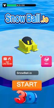 SnowBall.io - Guerra De Bolas de Nieve 3D الملصق