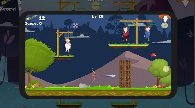 Hero Archer Save Man screenshot 2