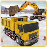 APK Snow Heavy Excavator Machine Simulator
