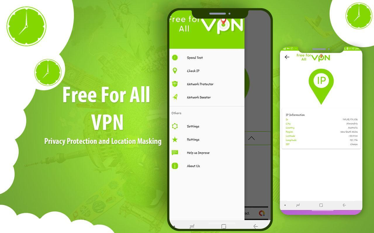 Free for All VPN - Free VPN Proxy Master 2019 for Android